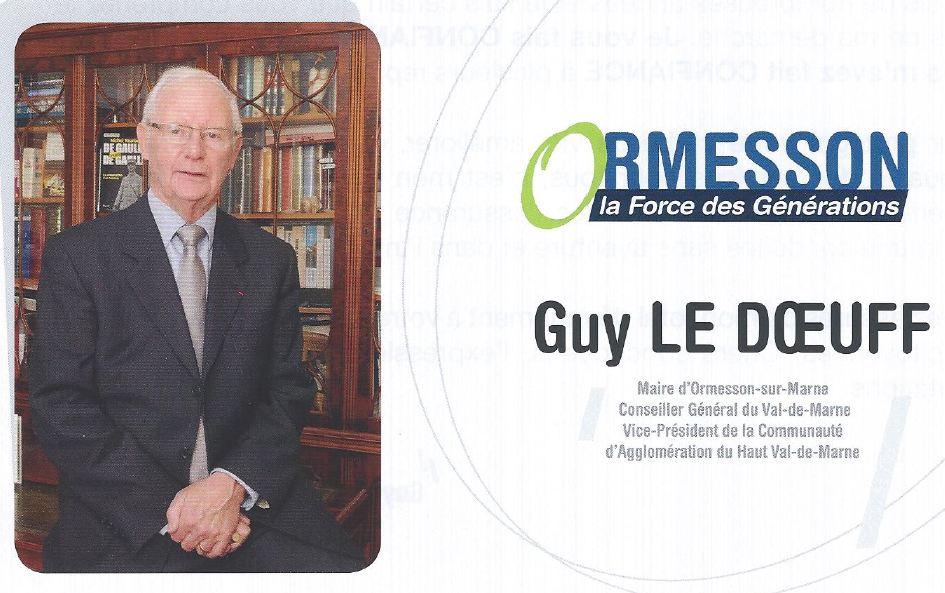 Lettre Guy Le Doeuff