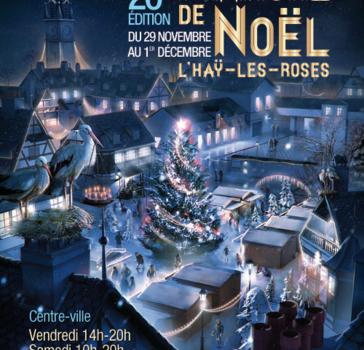 Marché de Noël à L'Haÿ les Roses