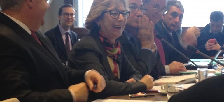 Geneviève Fioraso encourage le Campus Sciences et Santé