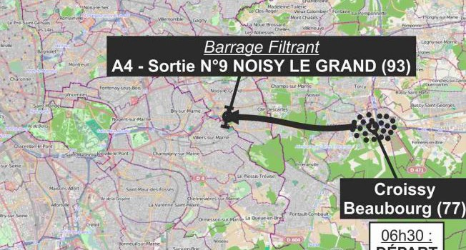 Manifestations contre l'équi-taxe et l'éco-taxe sur les autoroutes : A1, A4, A6, A10, A15…