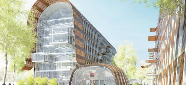 Fontenay signe une convention d'insertion avec Eiffage pour construire le campus Société générale