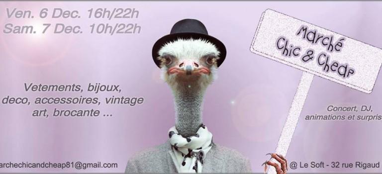 Neuf et occasions en nocturne au marché Chic & Cheap d'Ivry