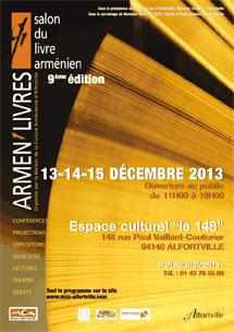Salon du livre arménien à Alfortville