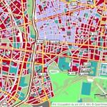 Carte IAu IDf Open StreetMap Vincennes Saint Mande Occupation des sols