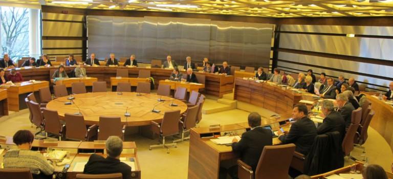 Vif débat sur les nouveaux cantons au Conseil général