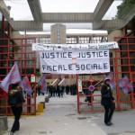 Manifestation Agents Impot Creteil Novembre 2013