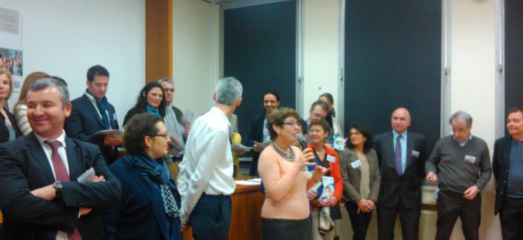 Claire Pallière présente son « équipe pour Saint-Mandé »