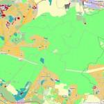 Villes du 94 en forête carte IAu IDF avec Open StreetMap