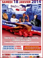 Concert de soutien à Haïti avec Foxy Dana