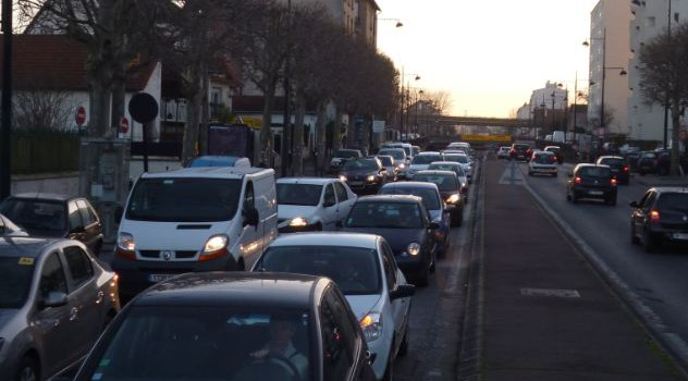 Impact sonore des routes départementales par ville