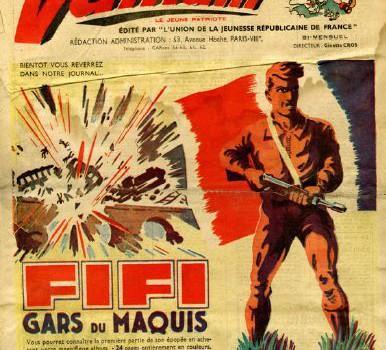 La libération de la France vue par la BD à Champigny