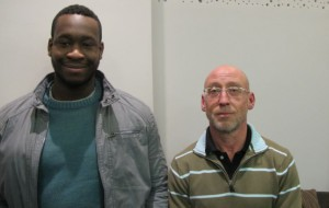 Idrissa et Jean-Yves