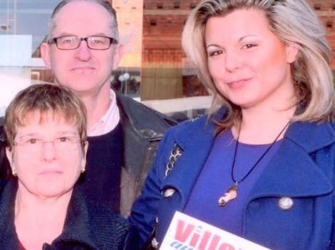 Cindy Lopes égérie de la campagne de Guy Juin à Villeneuve-le-Roi