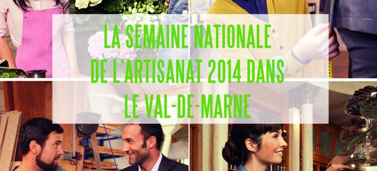 Une semaine pour l'artisanat dans le Val de Marne