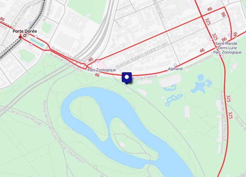 Acces Zoo Carte OpenstreetMap