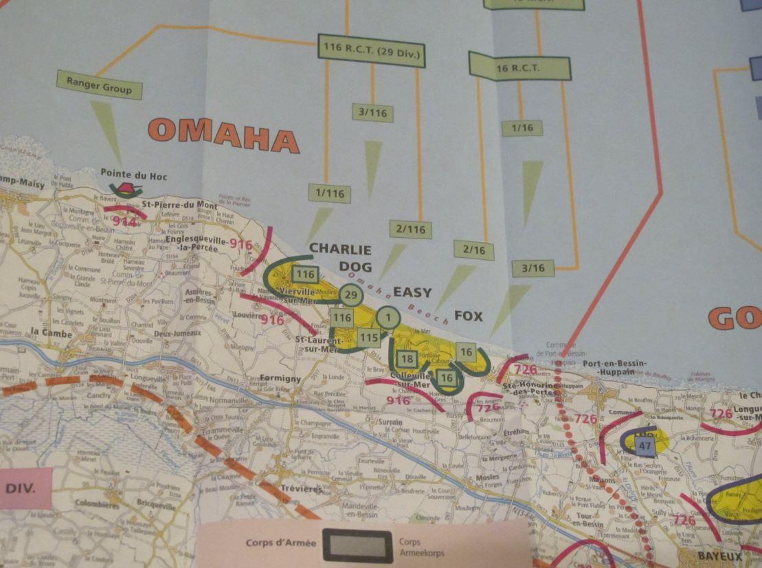 L Ign Raconte Le Debarquement Du 6 Juin 1944 En Carte 94 Citoyens