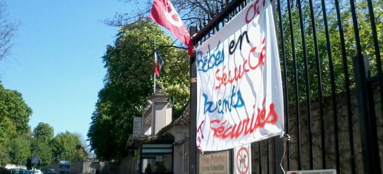 Nouvelle grève le 29 avril aux crèches des hôpitaux de Saint-Maurice