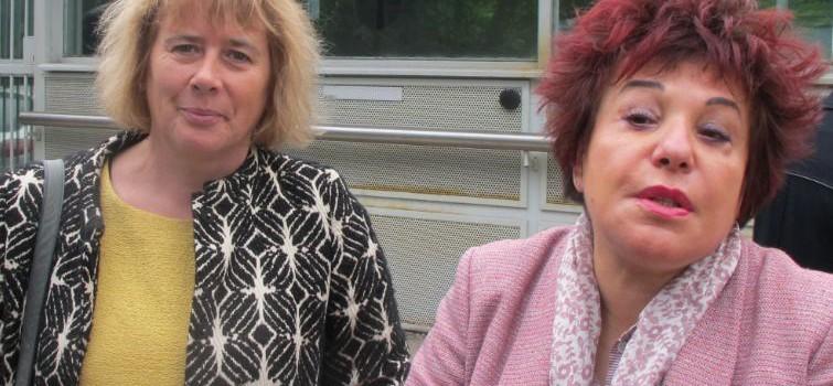 CRA de Vincennes, E. Benbassa et L. Abeille défendent l'information du droit des étrangers