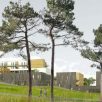 Lyce International Noisy le Grand  © SCAU architectes. Perspecteur Joachim Lezie Cobert