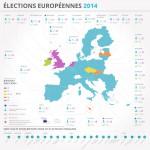 Nombre de deputes europeens par pays Elections europeennes 2014 Inforgraphie Union europeenne