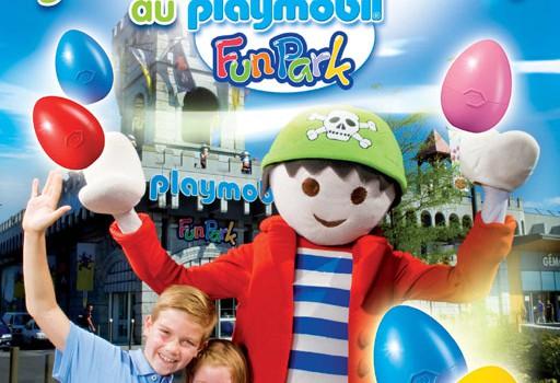 Chasse aux oeufs au Playmobil Funpark