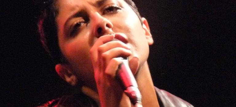 Carmen Maria Vega chante Boris Vian à la Grange dîmière