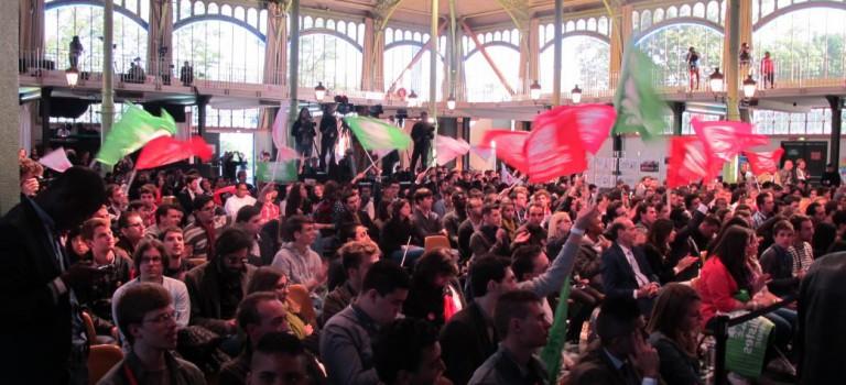 Elections européennes : les Jeunes socialistes donnent de la voix