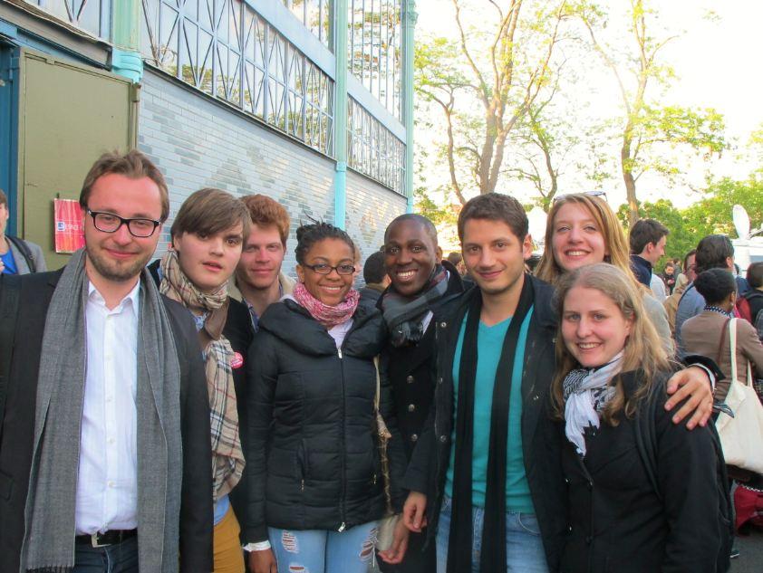 Jeunes Socialistes Europeens Pavillon Baltard 3 mai 2014 4