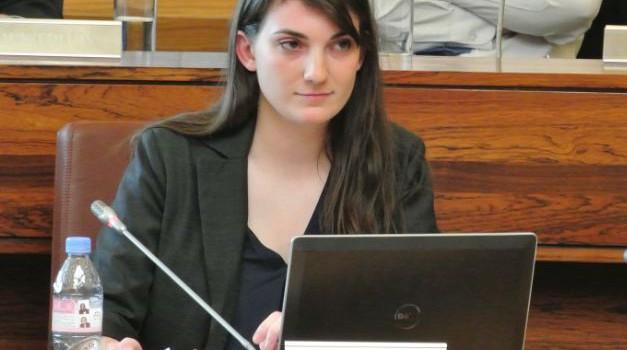 Nathalie Eroukhmanoff appelle à voter pour LRC-Cap 21