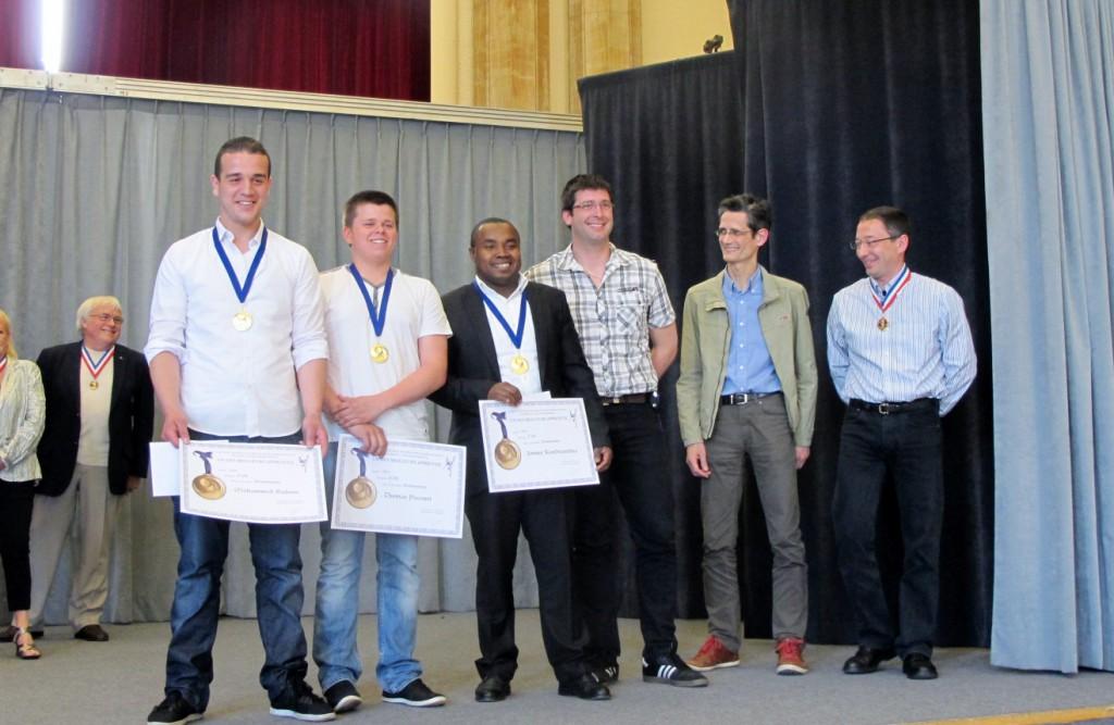 Remise des prix Concours du meilleur Apprenti de France