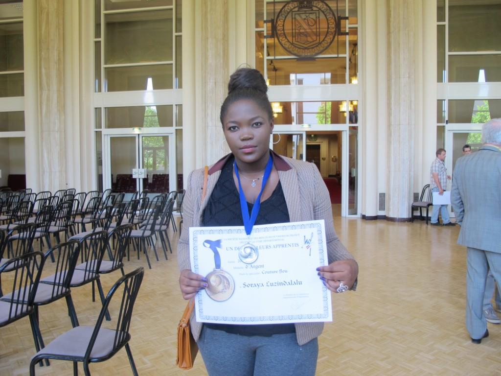 Soraya étudiante Concours Meilleur apprenti de France