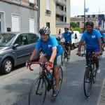 Arrivée course psycyclette