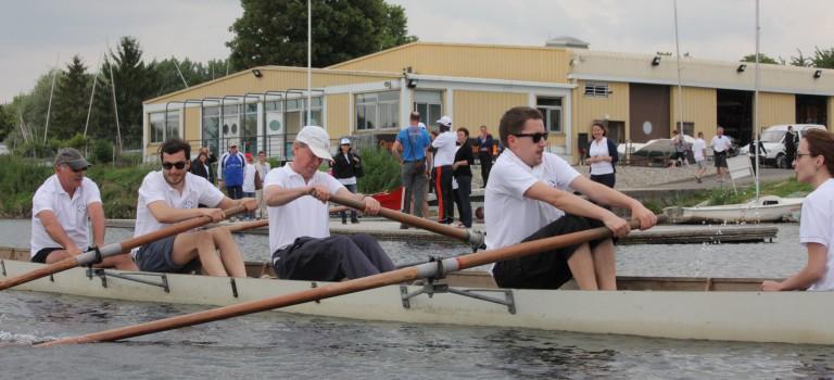 Les clubs d'entreprises se challengent sur l'eau