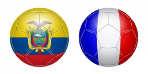 Football. Equateur - France