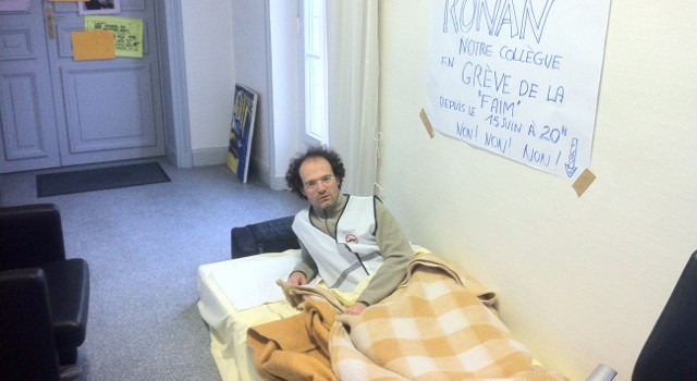 Fin de la grève de la faim à Paul Guiraud