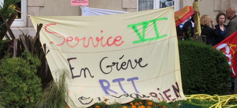Paul Guiraud: les hospitaliers de la région à la rescousse des grévistes