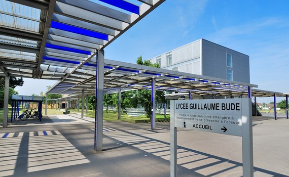 Transdev fait de la prévention routière au lycée Budé de Limeil-Brévannes