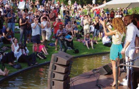 Bois de Vincennes: Paris Jazz festival fête sa 25ème année