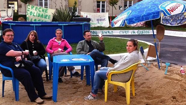Cinquième semaine de grève sous tension à l'hôpital Paul Guiraud