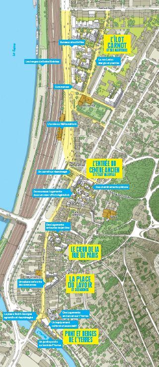 Reamenagement centre ville Villeneuve Saint Georges EPA ORSA