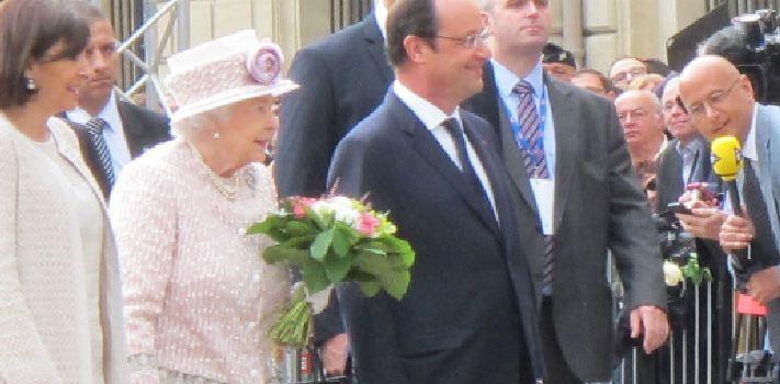 Une élève de Créteil rencontre la reine d'Angleterre