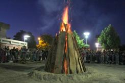 Bal et feu de la Saint Jean à Ablon