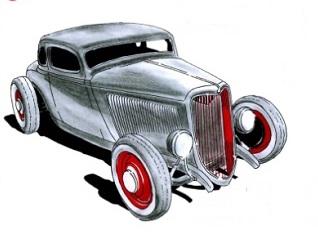 Exposition-rallye de voitures anciennes à Sucy