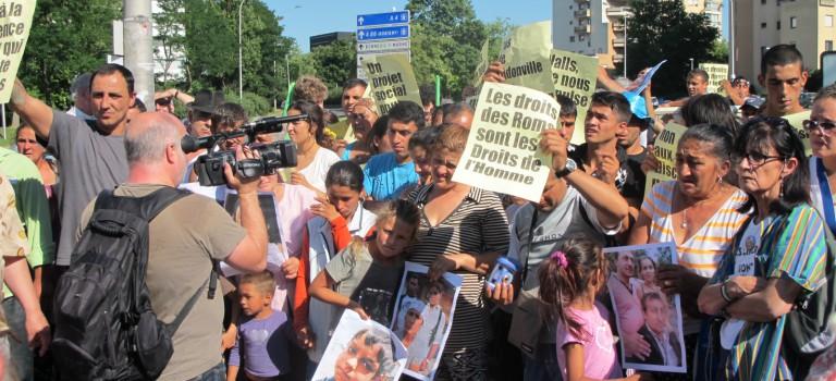 Expulsion du bidonville rom de Vitry-sur-Seine