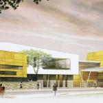 Projet restructuration globale lycee Gabriel Peri Champigny sur Marne agence Vea