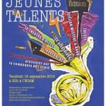 Affiche Jeunes Talents Marine Bourserie