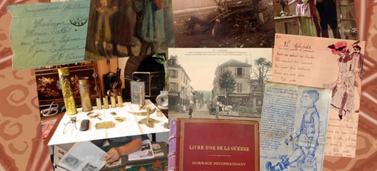 La guerre 14 au quotidien à Cachan : exposition