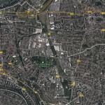 CDT Boucles de la marne vue aerienne Champigny Google