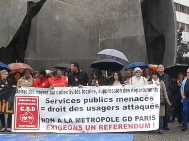 Création d'un collectif contre la réforme territoriale