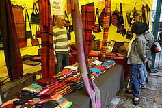 Marché de commerce équitable à Nogent-sur-Marne